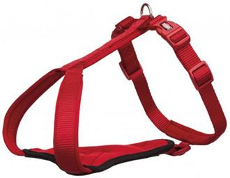 Premium Y-harness, XS–S: 37–45 cm/15 mm, red