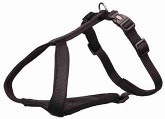 Premium Y-harness, XS–S: 37–45 cm/15 mm, black